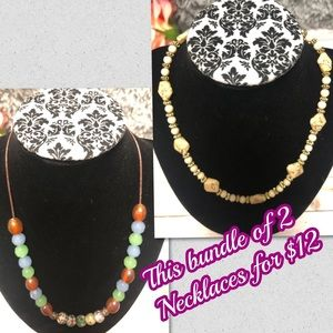 Fashion necklace bundle $12